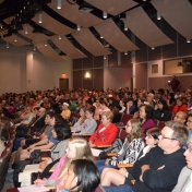 The audience at Professor Gates lecture.