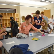 Madison Southern students play game to see how water moves