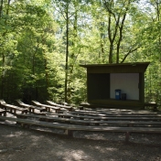 The amphitheater at Maywoods