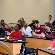 Audience at Alumni Lecture Series