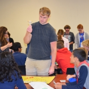 Zachary Morgan leads probability game for Model students