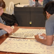 Model students try to predict outcomes of probability games