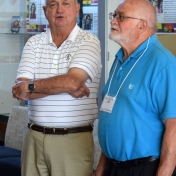 Dr. Chris Laird and Dr. Jerry Cook (Physics & Astronomy)